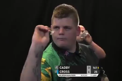 Corey Cadby's Massive Checkouts To Beat Rob Cross After 1-4 Down