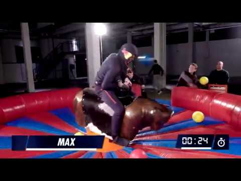 Max Motivation: One Minute Bull Challenge – Max Verstappen and his friends