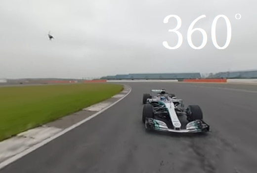 On Track With 2018 Mercedes F1 In 360 View