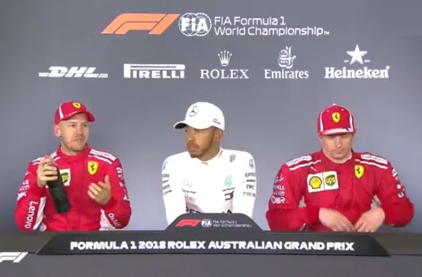 Things Get Heated In The Press Conference After Qualifying