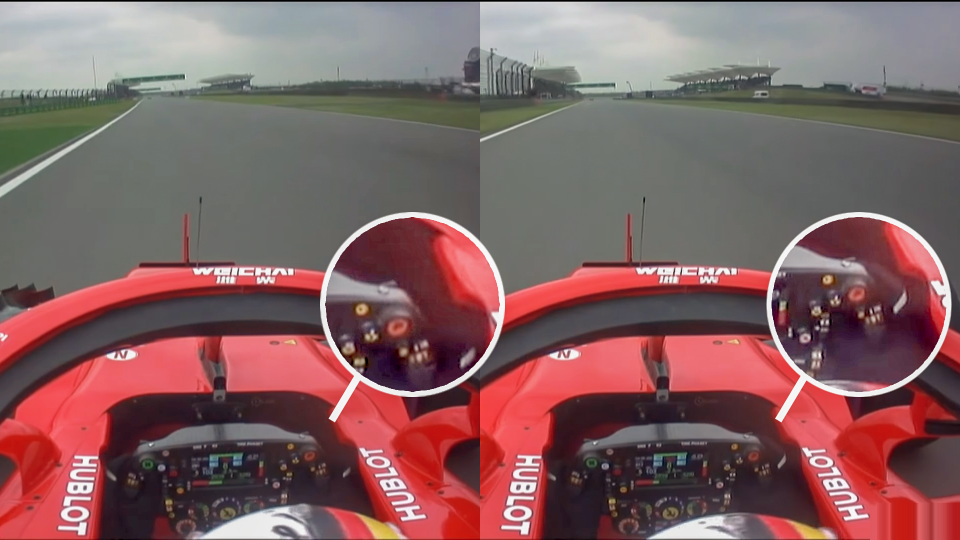 Watch Sebastian Vettel Using Secret Third Paddle