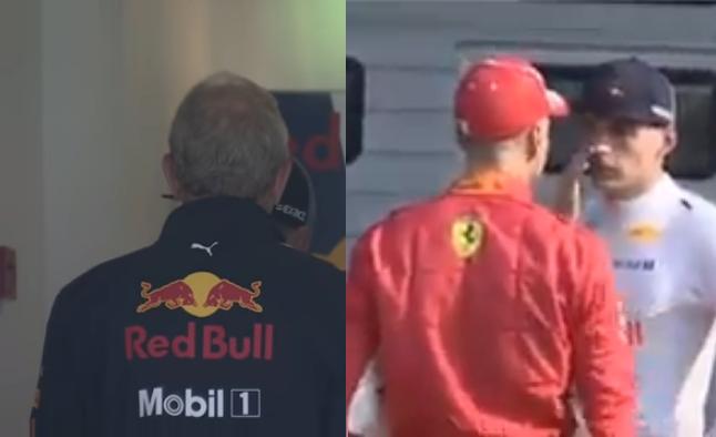 Marko And Vettel Telling Verstappen He Gave Victory Away