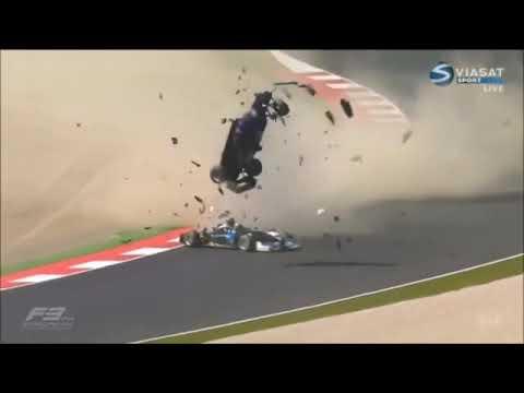 Remember This Massive Airborne Crash in Formula 3