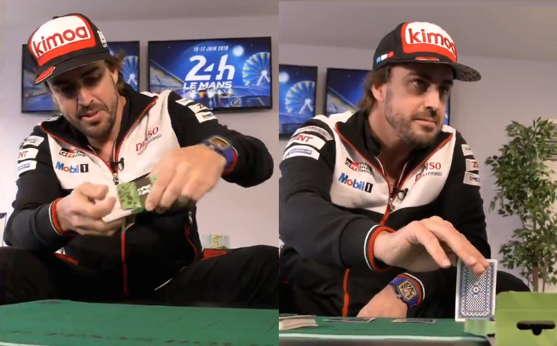 Enjoy Some Magic With Fernando Alonso At 24 Le Mans
