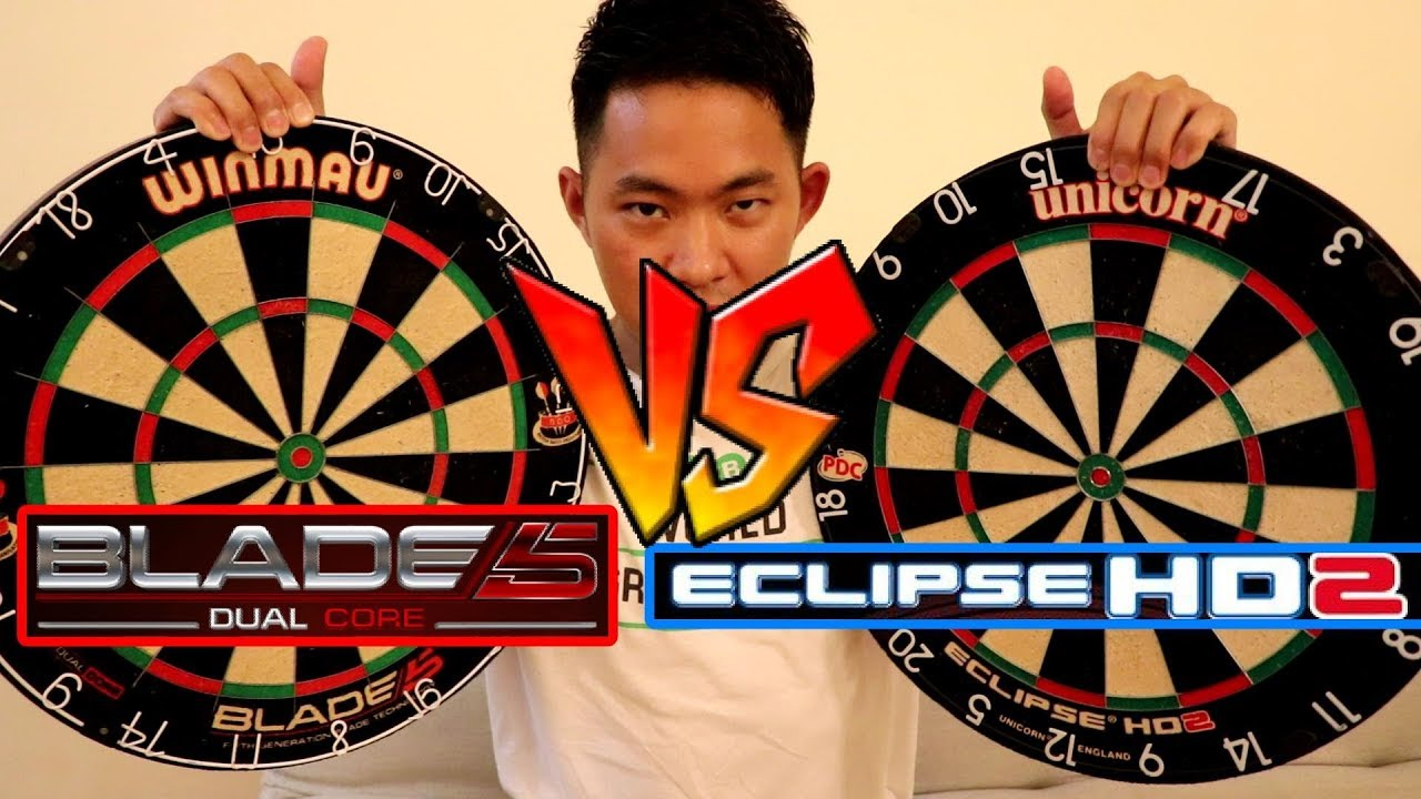 Which One Is Better: Winmau Blade 5 vs Unicorn Eclipse HD2