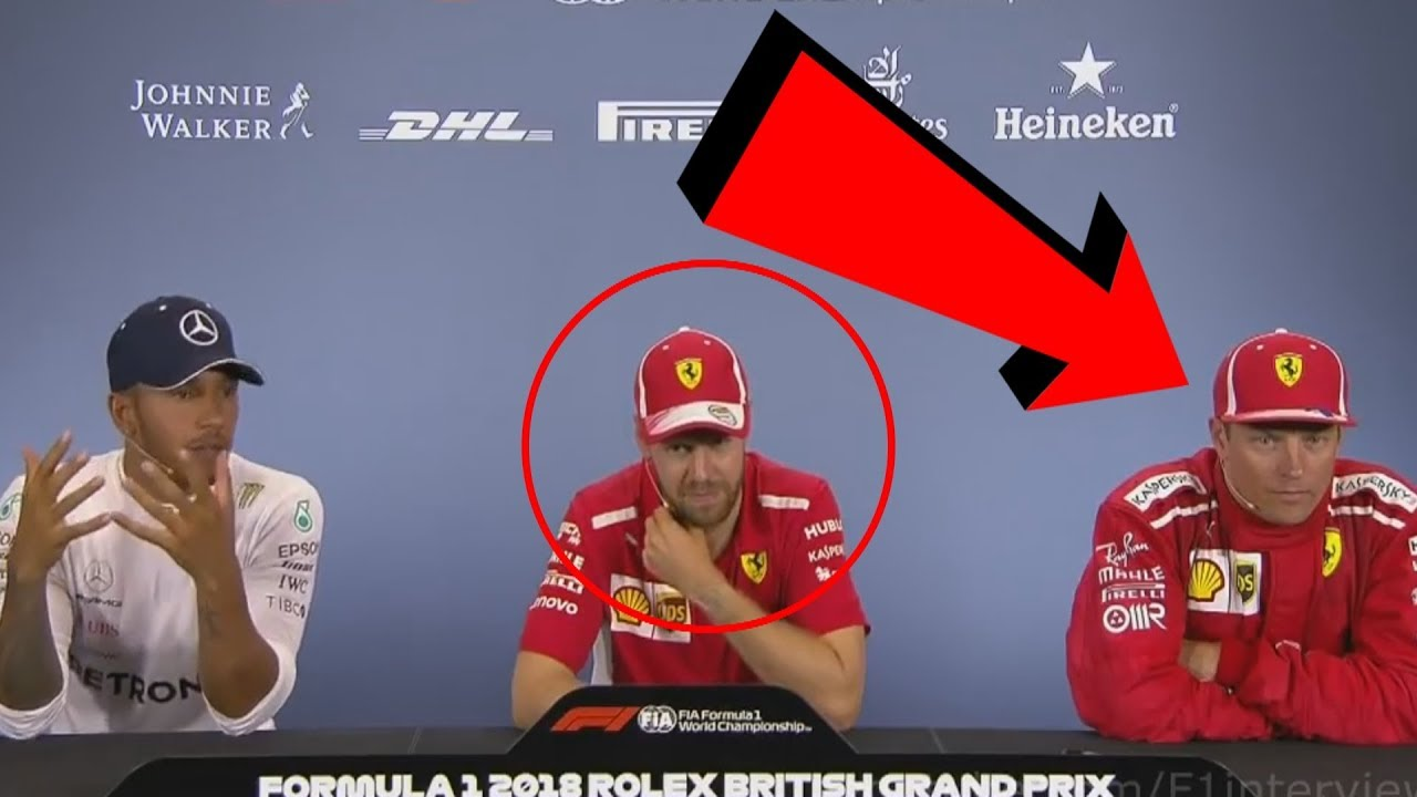 Kimi Raikkonen's & Vettel's Reaction To Hamiltion's Accusation
