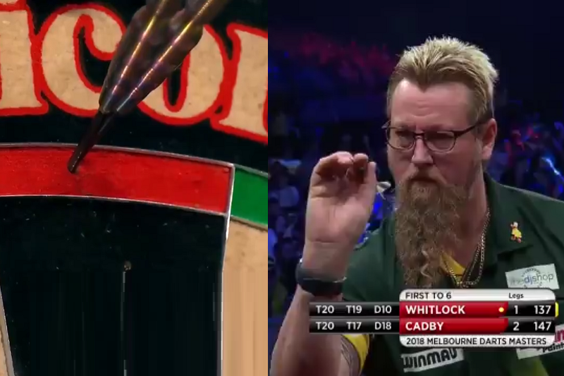 Whitlock Beats Cadby With Massive 137 Double Double Checkout