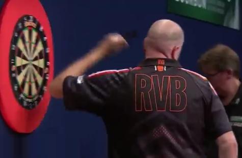 Angry Van Barneveld Despite Win At Melbourne Darts Masters