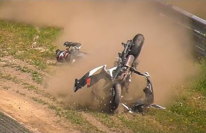 Motorcyclist Survives Major Crash on the Nürburgring Nordschleife