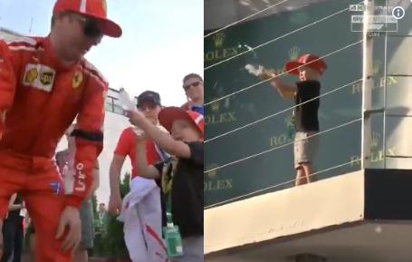 Kimi Raikkonen's Cute Son Is Ready For His Formula 1 Career