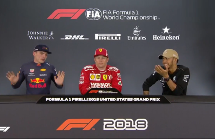 Max Verstappen and Lewis Hamilton Banter After The Race