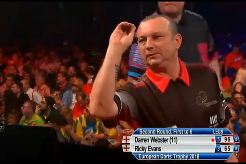 Darren Webster Beats Evans With Beautiful Double Double Checkout