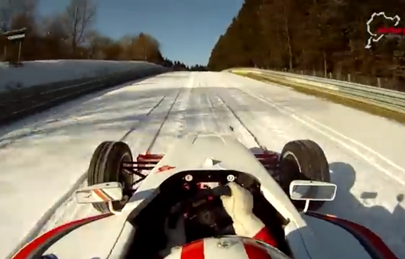 Watch How Awesome Formula 1 Would Be In The Snow