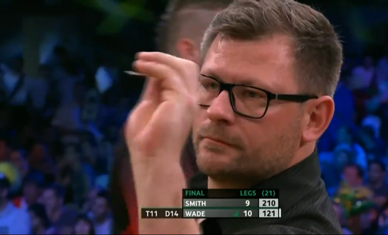 James Wade Busts 121 In Final To Win World Series of Darts Finals