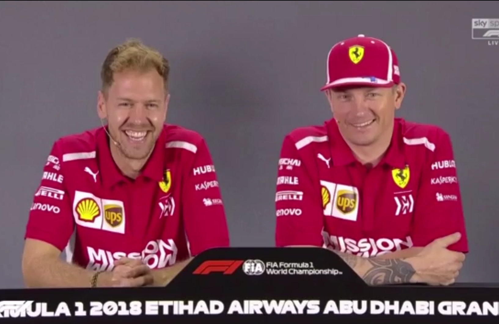 Sebastian Vettel On What He Is Going To Miss About Kimi Raikkonen