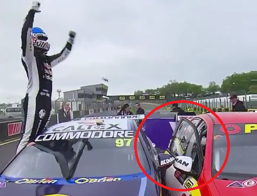Hilarious Way To Annoy Your Rivals After The Race