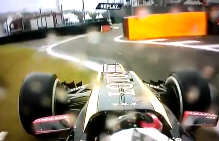 Remember Kimi Raikkonen Got Lost During Brazilian Grand Prix