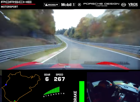 Watch Porsche Set New Record on the Nürburgring-Nordschleife