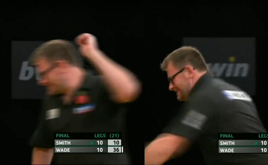 James Wade Smashed His Darts On Stage After The Final