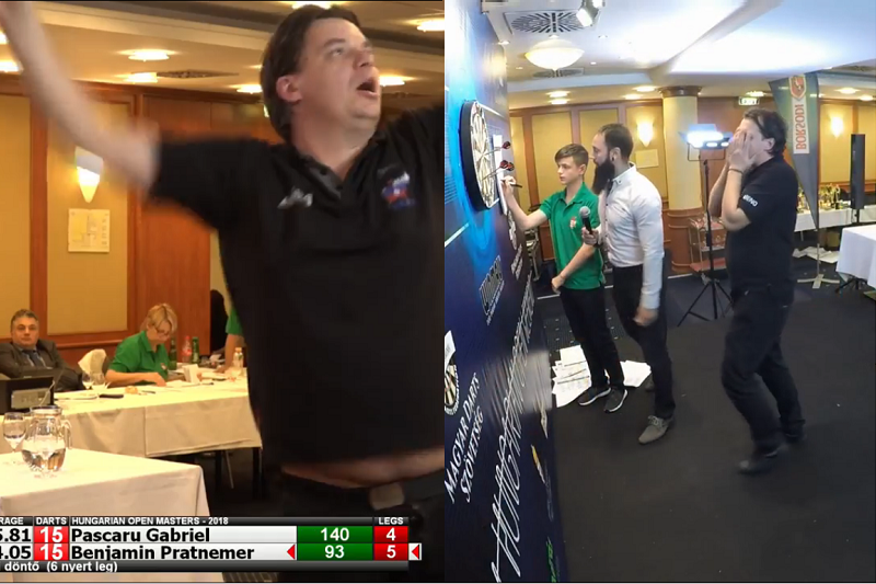 Player Celebrating Winning Hungarian Masters Final, But Miscounted…