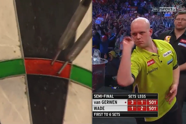 Michael van Gerwen Landing 17 Perfect Darts In a Row