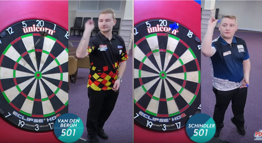 Speed Darts Episode 2: Dimitri van den Bergh vs Martin Schindler