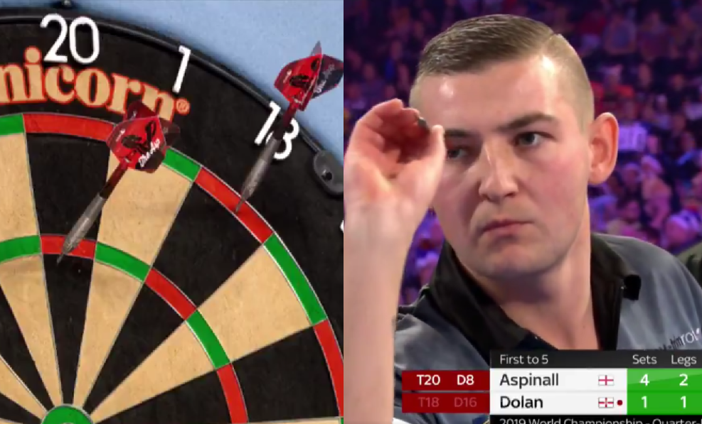 Nathan Aspinall To Semi Final With Massive Double Double Checkout