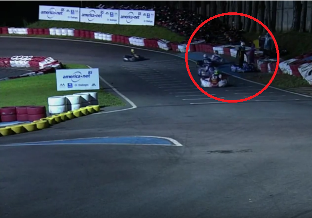 Horrible Go-Karts Crash During 500 Milhas at Granja Viana