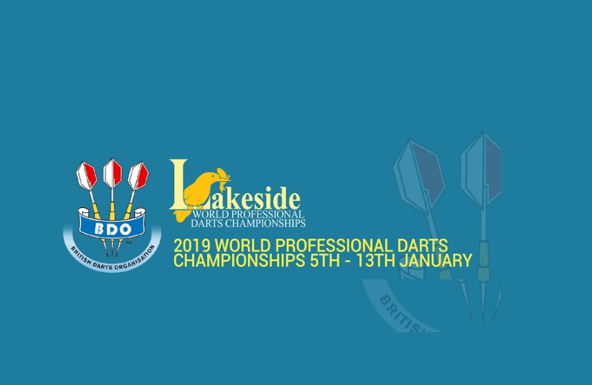 Livestream Lakeside 2019: BDO Darts Sunday Aftenoon & Evening