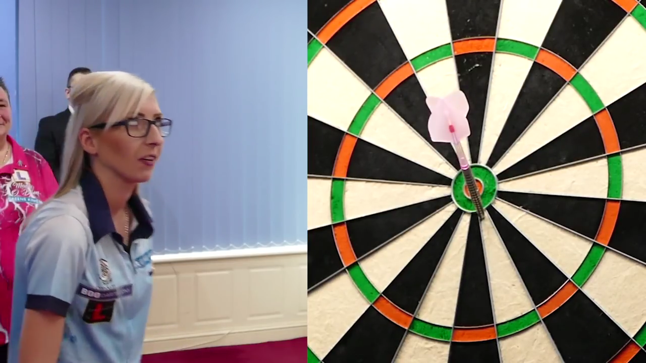 Fallon Sherrock's Drama On The Bulls-Eye During 'Bull Up'