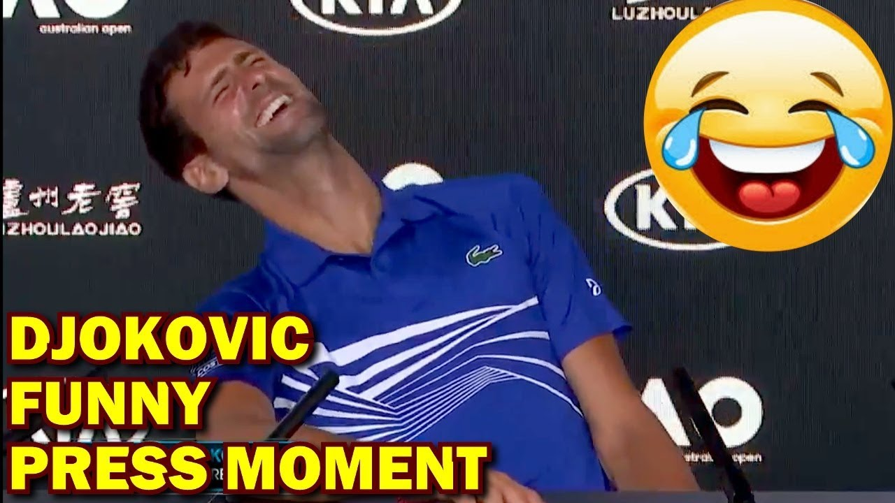 Funny Novak Djokovic Press Conference Australian Open 2019