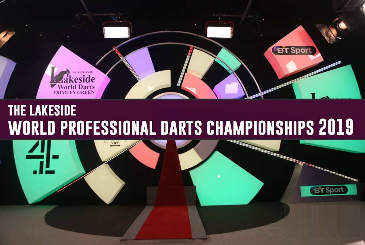 Livestream: World Professional Darts Championship Lakeside 2020
