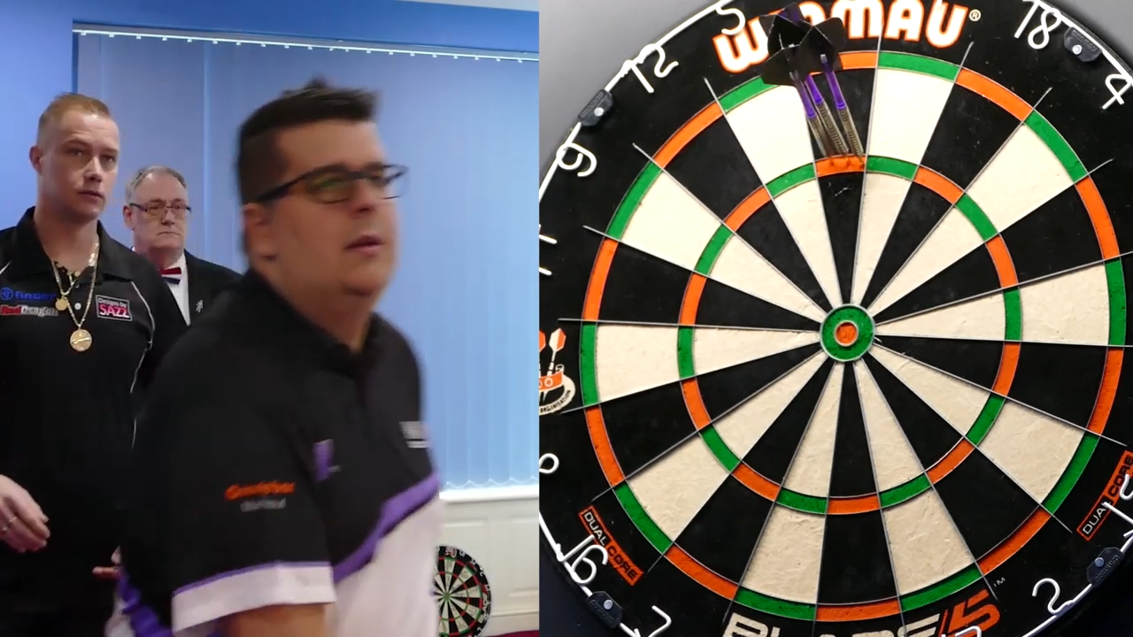 Willem Mandigers Hits 8 Perfect Darts Before Match Against Wesley Harms
