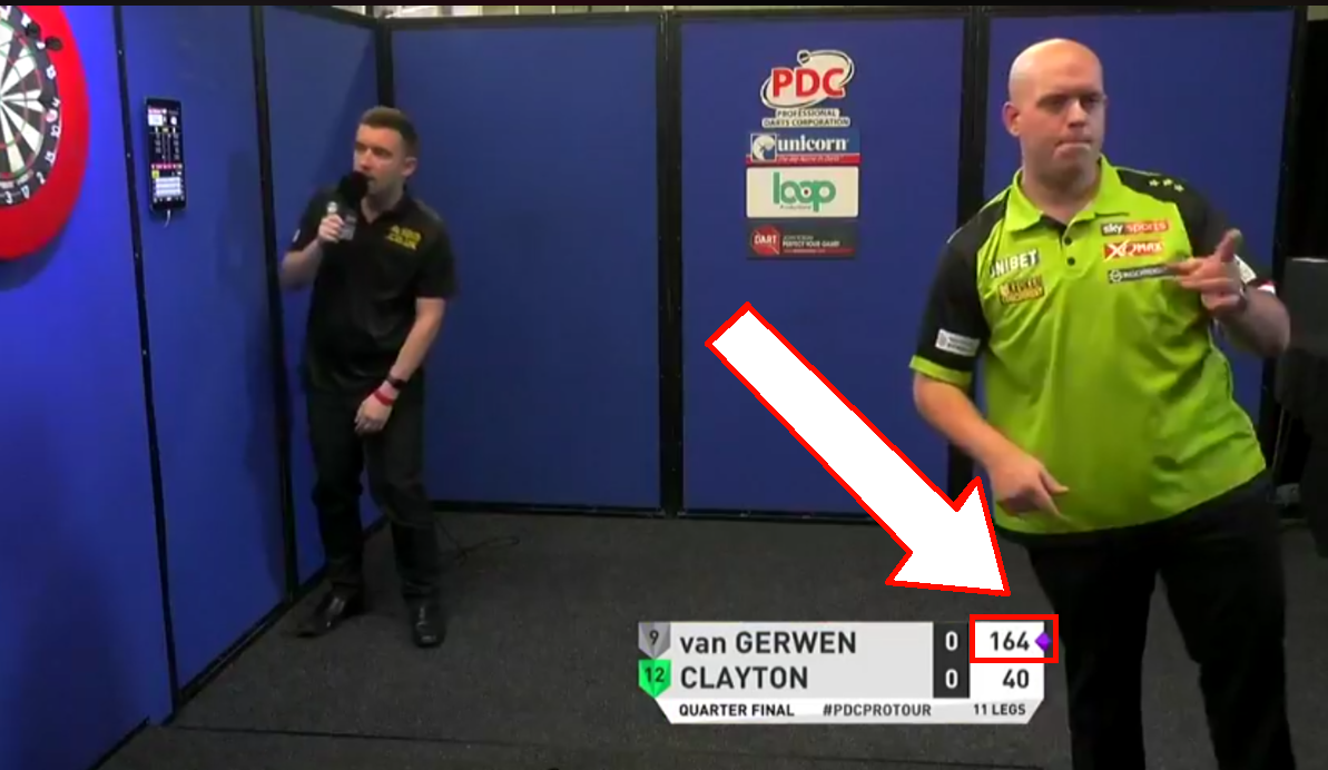 Michael van Gerwen Shows His Class With 110.00 Average in 10 Minutes