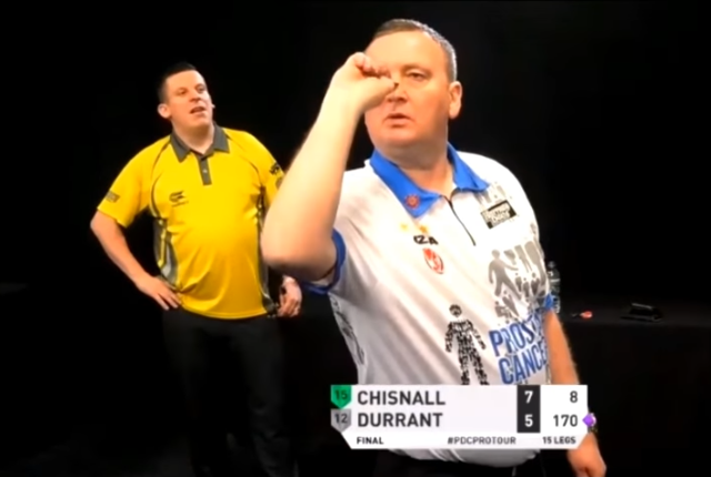 Glen Durrant 170 Checkout to Save the Match In Final