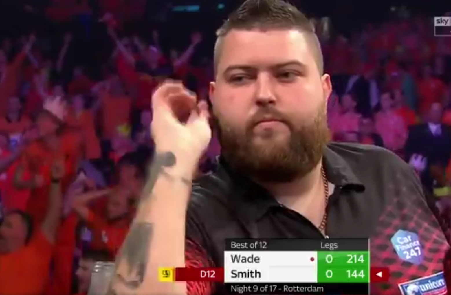 VIDEO: Michael Smith Was So Close To A 9-Darter In Ahoy Last Night