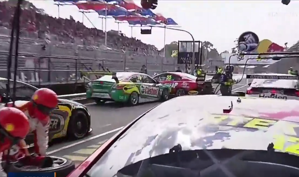 Unsafe Release Turns Into Pit Lane Chaos in Supercars Adelaide 2019