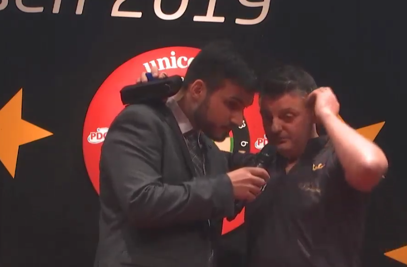 Emotional Interview By Justin Pipe After Win At European Darts Open