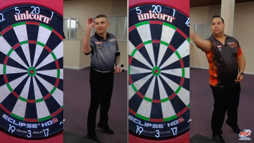 Speed Darts: Nathan Aspinall vs Jermaine Wattimena