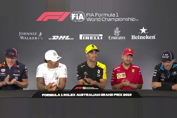 Robert Kubica Got Applauded By His Formula 1 Colleagues