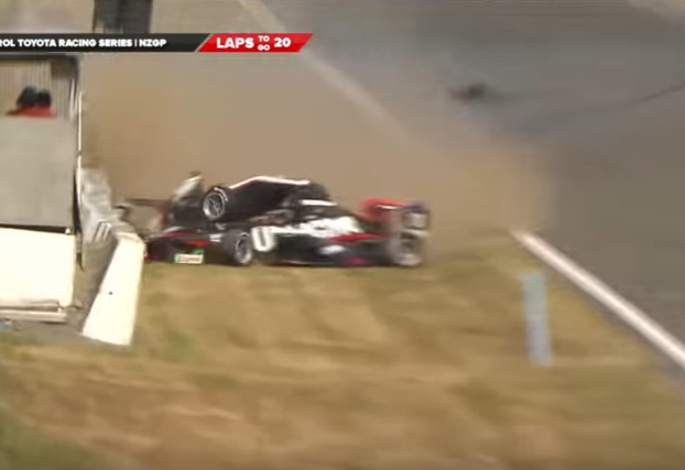 Scary Accident in Toyota Racing Might Change Opinion on Halo