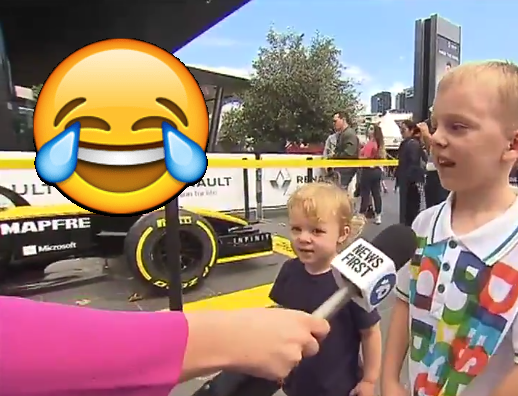 This Kid Will Be Cheering On 'Daniel Avocado' This F1 Season