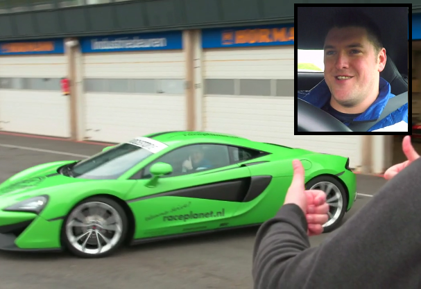 Watch Daryl Gurney Racing A McLaren Sports Car At Zandvoort