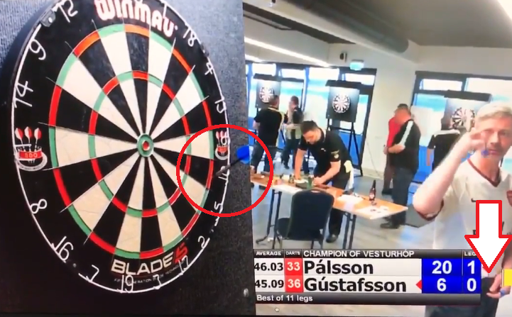 When You Block A Double With Your First Darts, Just Switch Hands!