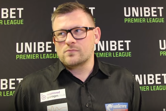 "James Wade: ""My game's been good for 18 months, not my fault you lot aren't looking"""