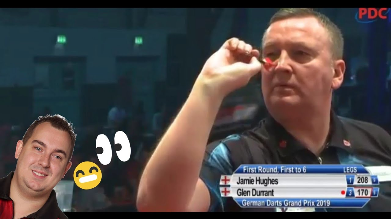 Hilarious Reaction of Kim Huybrechts After Glen Durrant's 170 Checkout