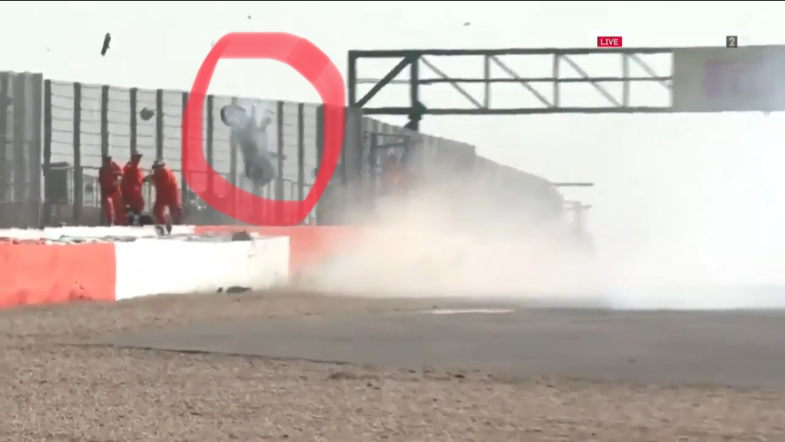 These Marshalls Got Really Lucky During This Massive Crash at Silverstone
