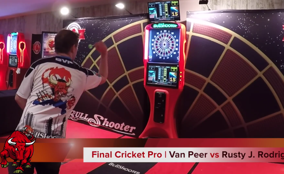 Berry van Peer's Amazing Winning Leg At European Championship Bullshooter