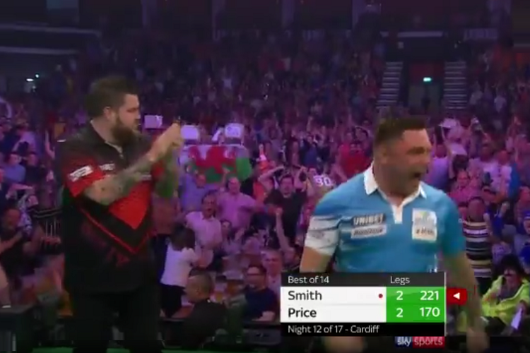 Michael Smith And Gerwyn Price Hit Back To Back 170-Checkouts