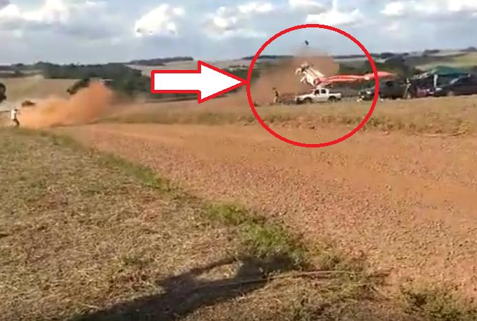 Rally Car Crashed Into Public Crowd During Ipiranga Rally 2019